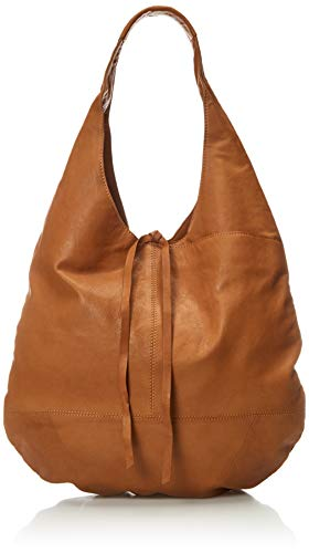 Lucky Brand womens Mia Hobo Shoulder, Camel, Extra Large US