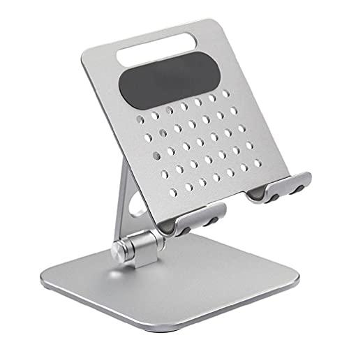 Soporte de tableta de escritorio Soporte de refrigeración ajustable de flujo de aire para iPad Pro E-Book Smartphone 7.9-12.9 pulgadas portátil Soporte de refrigeración
