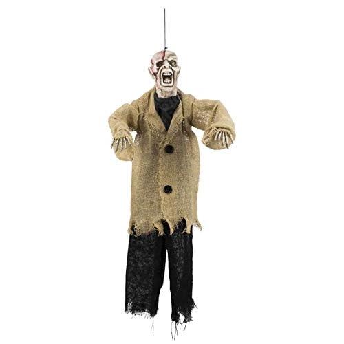 Boland- Decorazione Zombie Girl, Beige, 52 cm, 72030