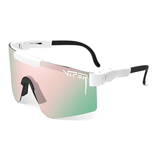 MYMGG Se Divierte Las Gafas De Sol Adultas Polarizadas UV400 del Béisbol De Las Gafas De Sol, Usadas para El Golf,C3