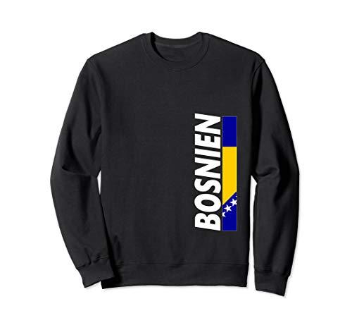 Bosnische Flagge Bosnien Sweatshirt