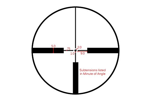 Primary Arms Classic Series 1-4x24 SFP Rifle Scope with Illuminated Duplex Dot Reticle