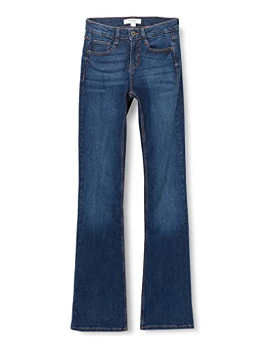 Springfield Vaquero Bootcut Pantalones, Azul Medio, 38
