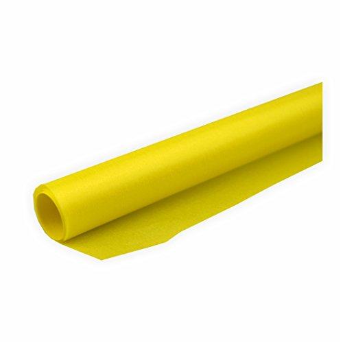 Transparentpapier 42g/m² 1 Rolle gelb 70x100cm Drachenpapier