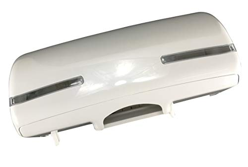 Toilettenpapierspender Tri Roll für drei normale Toilettenpapierrollen weiß Kunststoff