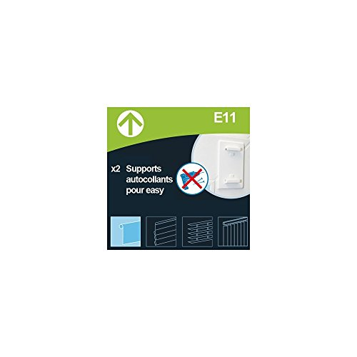 MADECO E11 - Soporte autoadhesivo para estor enrollable Easy