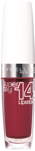 Maybelline New York Superstay 14H Lippenstift, 560 Continuous Cranberry, 3.5 g