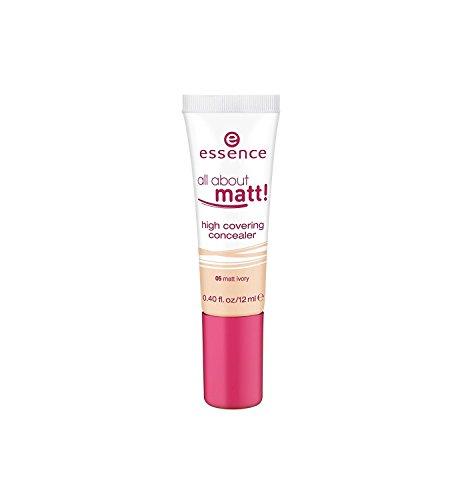 Essence All about matt ! Crème anticernes matifiante, hydratant et avec la provitamine B5 apaisante n°05 Matt ivory, 12 ml, 0.40 fl.oz.