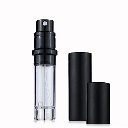 Flacons de parfum rechargeables en verre, vaporisateurs portables, taille de voyage, anti-fuite, conteneur de parfum pour homme et femme