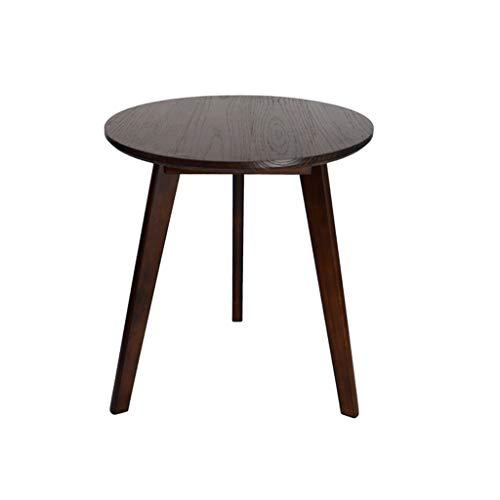 SZQ-Table Basse Rond Petite Table Basse Taille: 50 * 50 * 52CM Multicolore Haute Qualité En Bois Petite Table Hôtel Bureau Salon Canapé Balcon Table À Thé Table de sofa