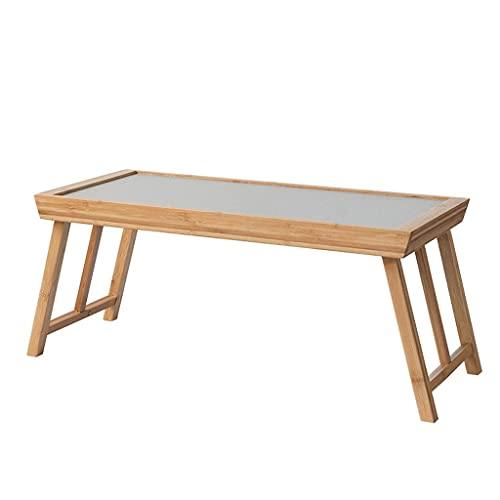 Mesa Centro Mesa de centro de té de bambú natural cama de...