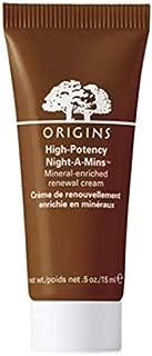 ORIGINS high-potency Night-A-Mins mineral-enriched renewal cream 15 ml / .5fl oz