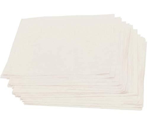 Sanmum 60 Stück Blumenpresse Nachfüllpackung, A5-Nachfüllpapier, Nachfülllinienpapier Refill Löschpapier für Hand Schreibunterlage