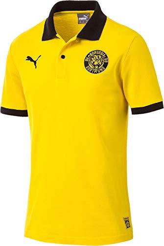 Puma 2018-2019 Borussia Dortmund Premium Stencil Polo Shirt ...