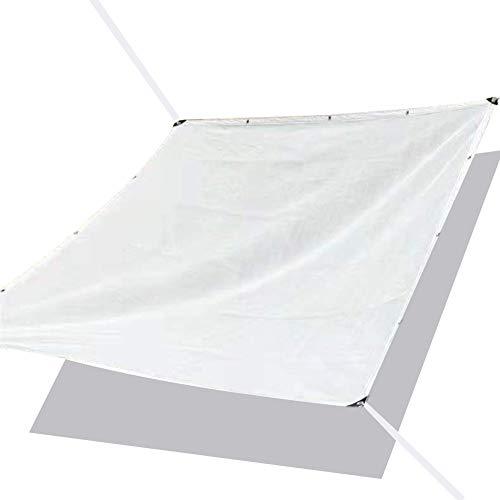 WXQIANG Red de sombreado perfecta protección solar con placa de sombra de ojos de metal 85% de protección UV, parasol de polietileno para exteriores, 23 tamaños, protección solar, aislamiento térmico,