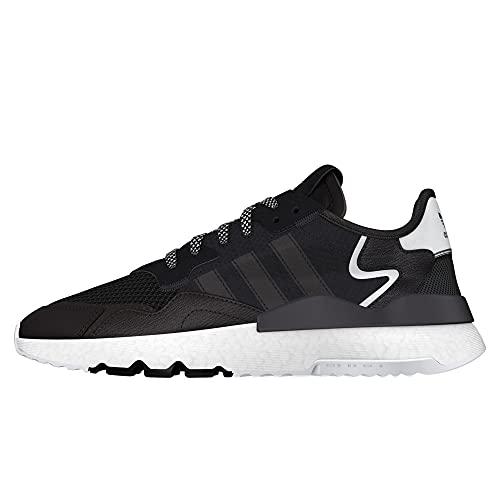 adidas Herren Nite Jogger Laufschuh, Core Black/Core Black/Carbon, 44 EU