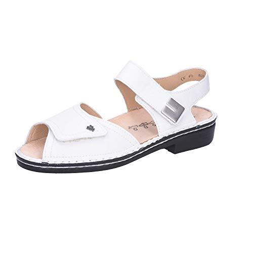 FinnComfort Damen Sandaletten Luxor 001000 weiß 308721