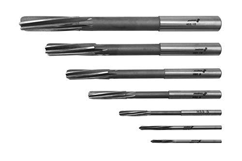 PAULIMOT HSS-Maschinenreibahlen-Set 7-teilig 3-12 mm, Passung H7