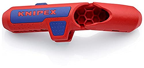 KNIPEX - 16 95 01 SB Tools - Ergostrip, Metric Sizes, Right Handed Version (169501SB)