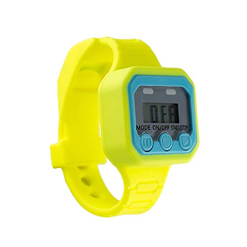 Potty Fun Potty Training Watch Countdown Timer to Remind Your Toddler to Go Potty with a Fun Audio/Music Theme - Fits Wrists of 5 to 6.25 inches - Skip to My Loo Theme
