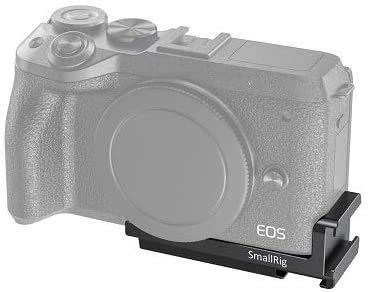 SMALLRIG Vlogging Cold Shoe Platte Kalte Schuhplatte für Canon EOS M6 Mark II - BUC2517