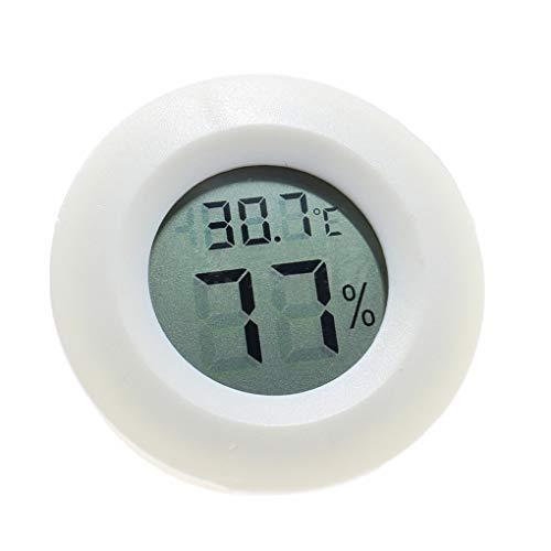 Vkospy Mini Practical Digital Hallenrunde Hygrometer Feuchtigkeits Messinstrument LCD Mini Digital Anzeige 1