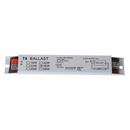 BIlinli 220-240V Wechselstrom 36W T8 Elektronische Vorschaltgeräte Leuchtstofflampen Vorschaltgeräte
