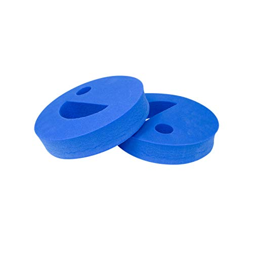 Trademark Innovations Water Weight Exercise Equipment Hand Held Disc Set for Pool Water Aerobics