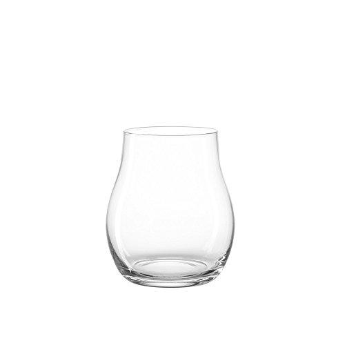 LEONARDO HOME Windlicht Giardino, moderne Laterne, handgefertigtes Unikat aus Glas, In- & Outdoor , H 22 Ø 19-cm , 010253