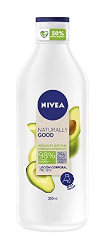 NIVEA Naturally Good Loción Corporal Aguacate Cuidado Intensivo Piel Seca 350 ml