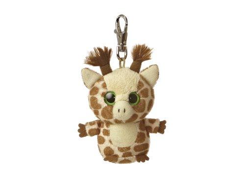 Aurora World 29062 - Yoohoo and Friends Topsee Giraffe Mini Schlüsselanhänger, 3 Zoll