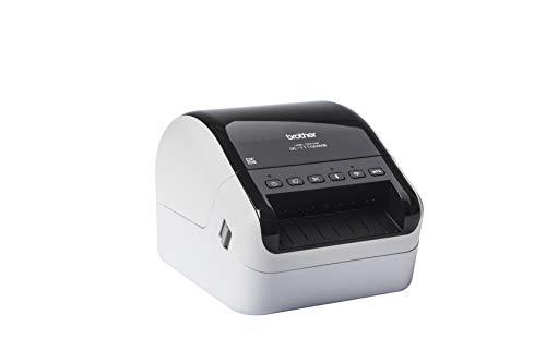 Brother ql-1100nwb impresora de etiquetas Industrial (térmica directa Ethernet Bluetooth Wi-Fi contiene 1rollo dk11247de 41etiquetas adhesivas y 1rodillo DK22205de cinta continua