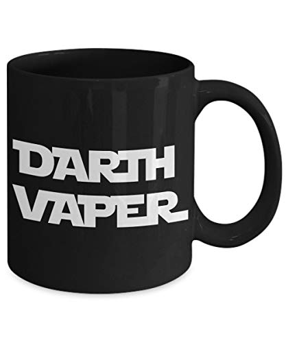 Darth Vaper Vape Vapor - Taza de café divertida