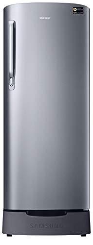 Samsung 230 L 3 Star Inverter Direct-Cool Single Door Refrigerator (RR24T282YS8/NL, Elegant Inox(Light Doi Metal))