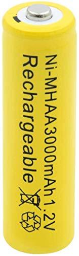 Lithium Ion Battery 1.2V Ni-Mh AaBattery Rechargeable 3000Mah Nimh Battery for Flashlight Flashlight Razor Mp3 Mp4 8Pcs-20Pcs
