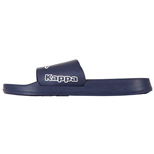 Kappa Krus, Tongs Mixte, Bleu (Navy/White 6710), 38 EU
