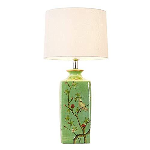 Nordic bureaulamp tafellamp slaapkamer bedlampje creatieve tekening woonkamer keramische lamp dimschakelaar E27 binnenruimte tafellamp, stuur uw baby een verjaardagscadeau, B-
