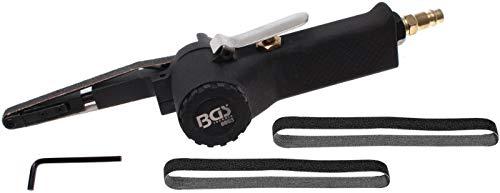 BGS 8853 | Druckluft-Bandschleifer | für Schleifbänder 330 x 10 mm | 20000 U/min | stufenlos verstellbar