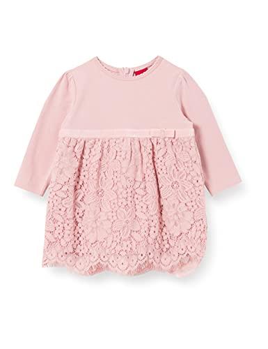 s.Oliver Junior Baby-Mädchen 405.10.102.20.200.2062592 Kleid für besondere Anlässe, Rose, 86