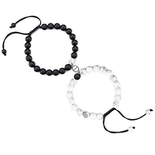 Wilacia Pärchen Armband Couple Bracelet Romantische Geschenke zum Valentinstag für Sie und Ihn Paar Frauen Männer