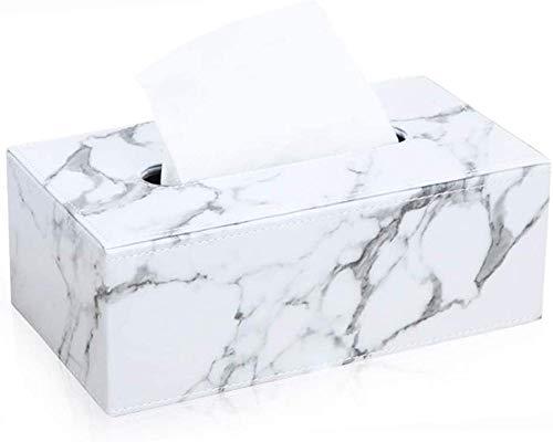 chenyikan Soporte para Caja De Pañuelos, Caja De Pañuelos Rectangular, Utilizado para El Carro De Oficina En Casa con Tapa De Lavabo del Baño
