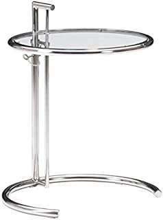 Zuo Eileen Grey Table, Chrome