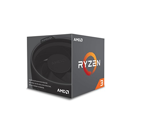 AMD YD130XBBAEBOX Ryzen 3 1300X Desktop Processor with Wraith Stealth Cooler
