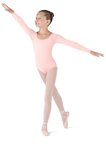Bloch CL5609 Ballett Trikot Langarm Rosa 4-6