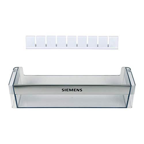 DL-pro Flaschenfach Abstellfach 440x100mm für Siemens 00704703 704703 Kühlschranktür Kühlschrank mit Flaschenkamm 791396
