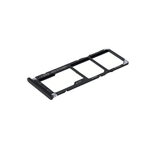 para Xiaomi MI A2Lite \ Redmi 6Pro Try Tray Bandeja alojamiento Puerto Tarjeta Dual SIM Card sim1+ Sim2+ Ranura Trineo alojamiento para Lector de Memoria Micro SD