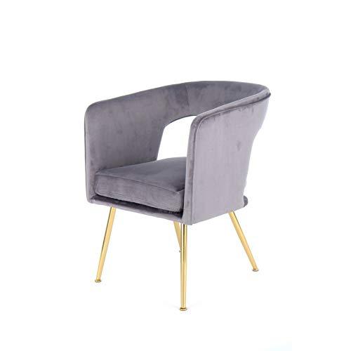 Paris Prix - Chaise Design Jolene 77cm Gris
