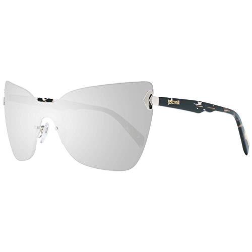 Just Cavalli Sonnenbrille Jc826S 28C-0-0-130 Gafas de sol, Plateado (Silver), 0.0 para Mujer