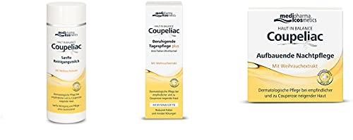 Haut in Balance Coupeliac Set mit Reinigung/Tagescreme/Nachtcreme