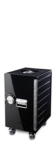 Bordbar Box Black - mit Bremsen - ohne Zubehör